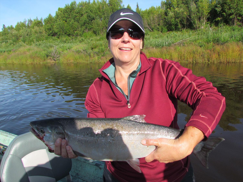 Alaska Salmon Fishing