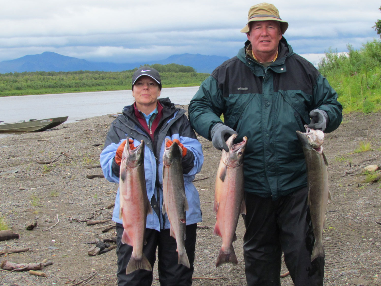 Trophy Salmon Fishing