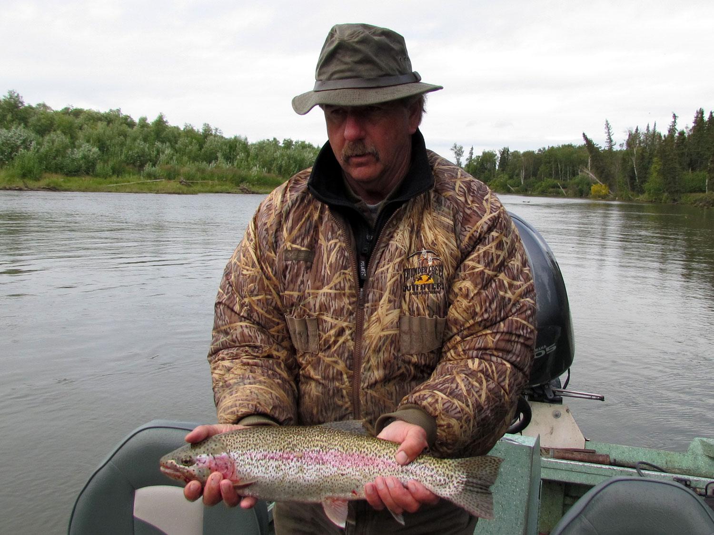 Rainbow Trout Fishing Alaska
