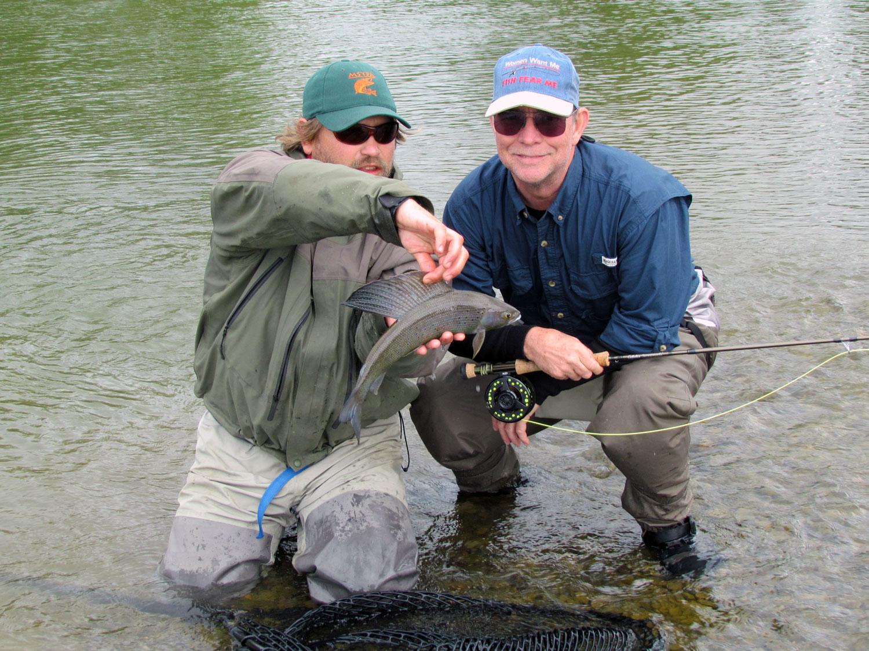 Grayling Fishing Alaska