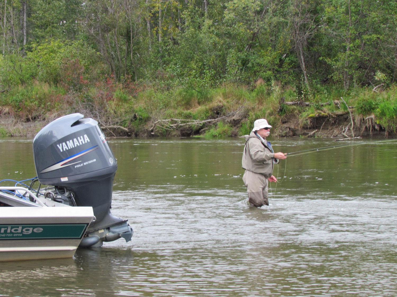Remote River Fly Fishing Alaska