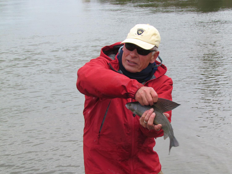 Grayling Fishing in Alaska