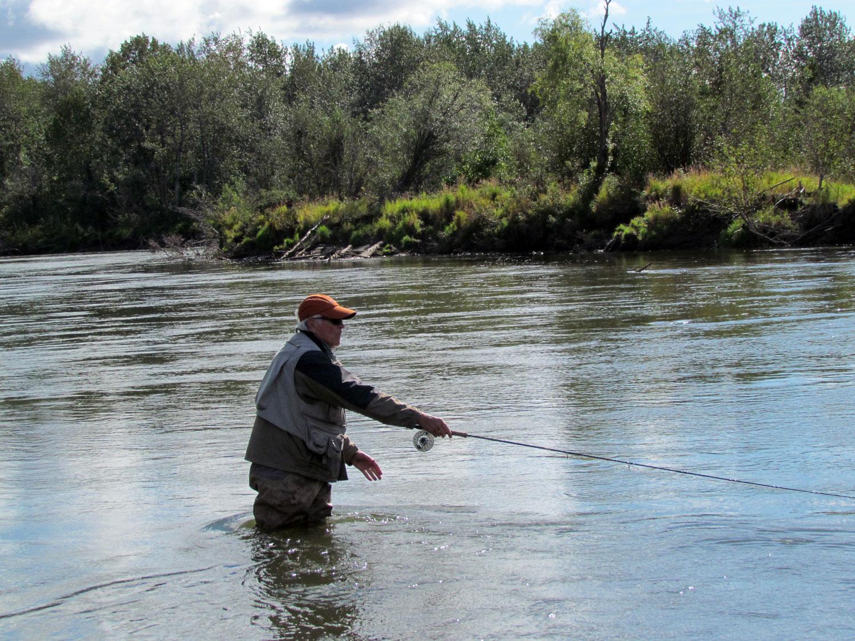 Fly Fishing Alaska Rivers