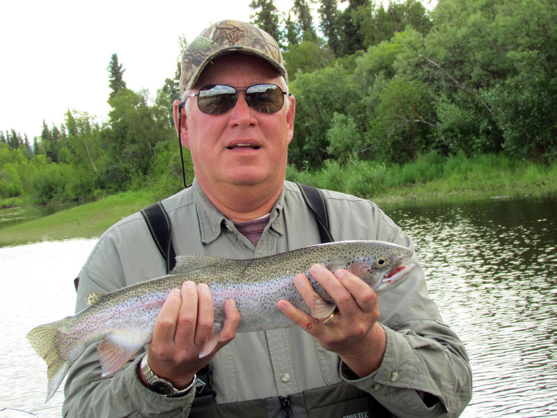 Rainbow Fly Fishing Alaska