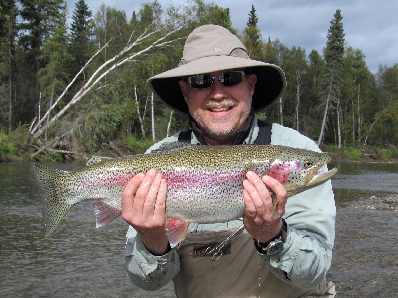 Trophy Rainbow Trout Alaska